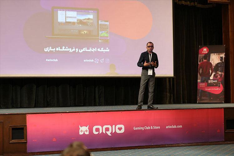 فروشگاه و شبکه اجتماعی بازیهای ایرانی آریو در نمایشگاه TGC 2017 معرفی شد