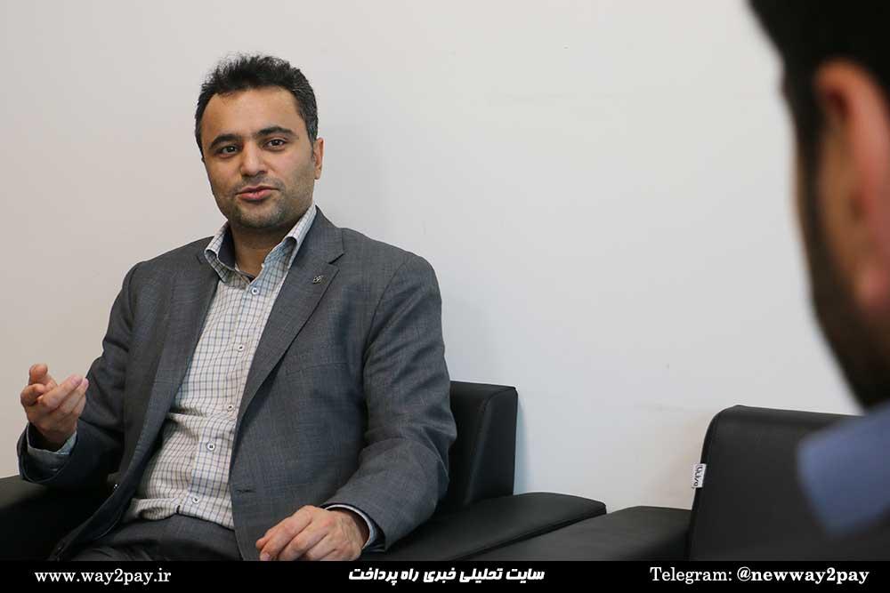 احمد آهی مدیر امور فناوری اطلاعات بانک صنعت و معدن