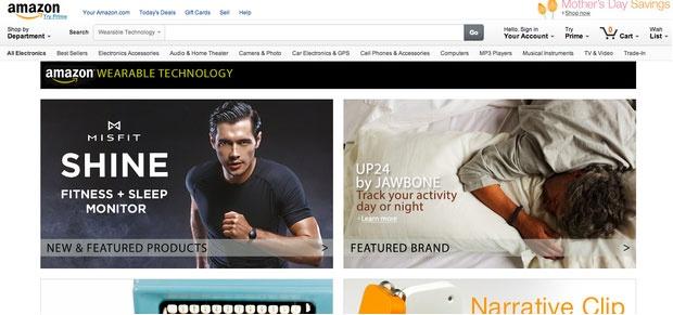 افتتاح فروشگاه آنلاین فناوریهای پوشیدنی توسط آمازون