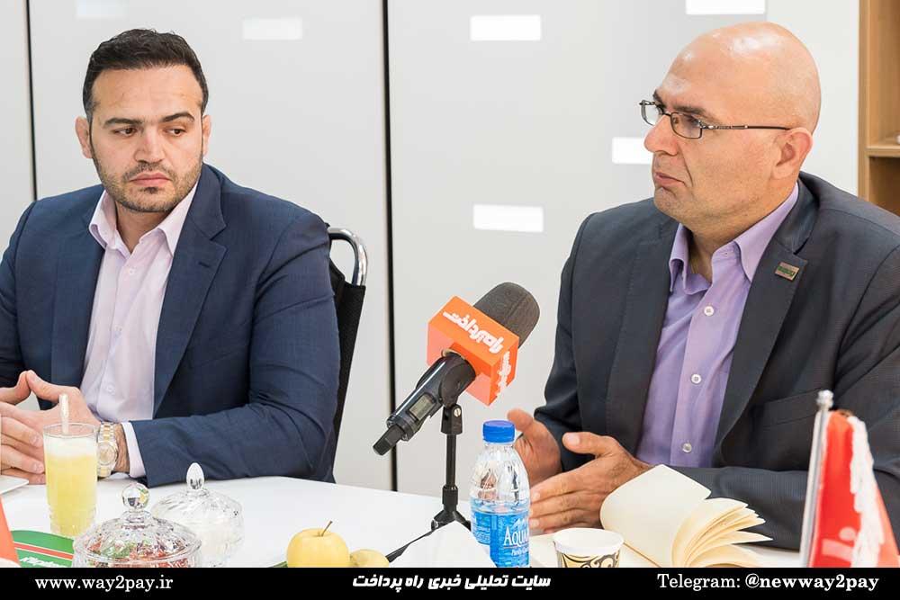 مازیار عربشاهی مدیر توسعه و کسبوکار ایران ارقام