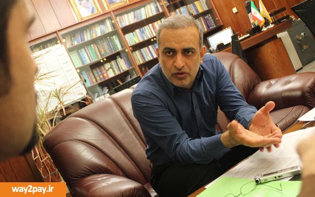 دکتر سید ولی الله فاطمی اردکانی، عضو هیات مدیره و معاون فناوری اطلاعات بانک ملی