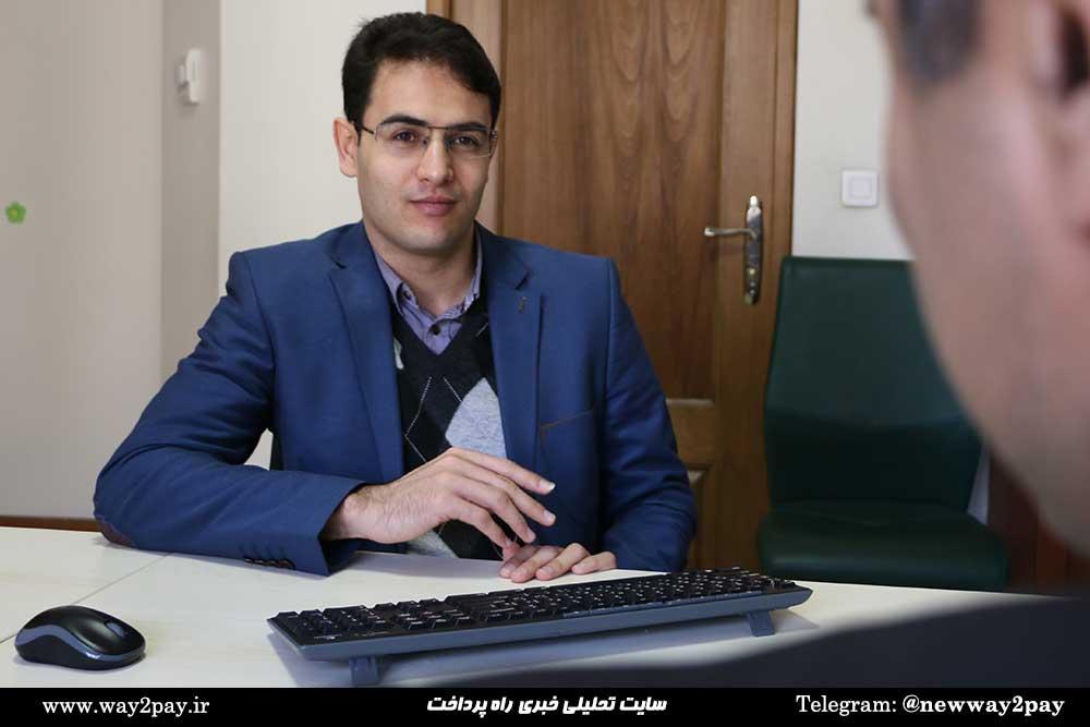 ابراهیم خلیلزاده مدیر بخش مهندسی امنیت شرکت بهسازان ملت