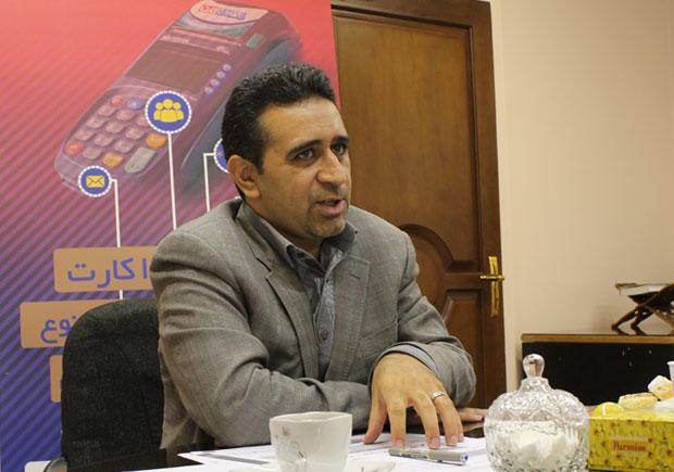 امیرحسین فتاحی، مدیر عامل شرکت فن آوا کارت