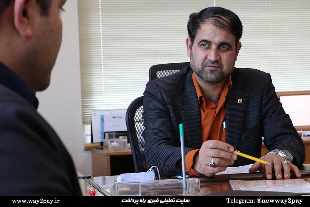 حمید غفاری عضو دفتر مدیریت برنامه بانک صنعت و معدن