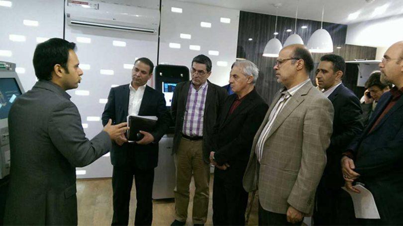 بازدید اعضای شورای عالی فناوری اطلاعات صندوق ذخیره فرهنگیان از کافه ATM