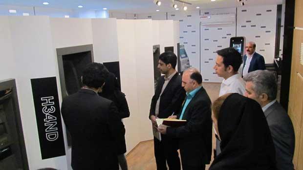 بازدید مدیران شرکت صرافی بانک ملت از نمایشگاه تخصصی و کافه ATM ایران ارقام