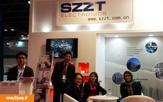 حضور شرکت رهیاب رایان فردا در کنار SZZT در نمایشگاه کارت و پرداخت خاورمیانه