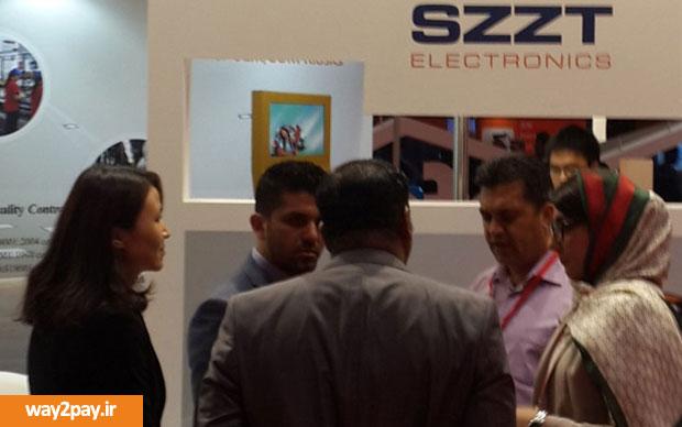 این شرکت نماینده انحصاری شرکت SZZT ارائهدهنده دستگاههای پایانه فروش هوشمند و قابلحمل در ایران است و در نمایشگاه کارت و پرداخت نیز به همراه SZZT حضور داشت