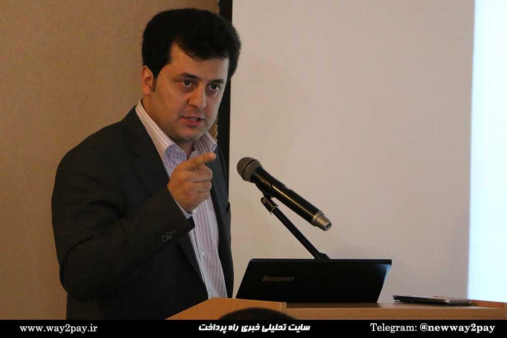 هادی سپانلو رئیس اداره کل سازمان و بهبود روشهای بانک ملت