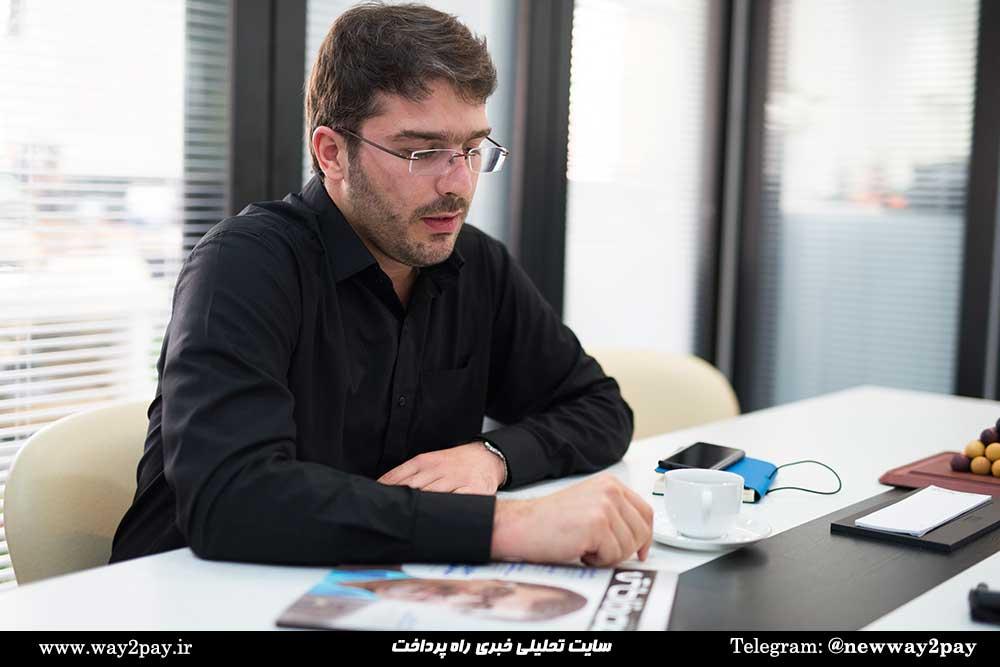علی بدیعی، مدیر مرکز فضای کار اشتراکی فینووا