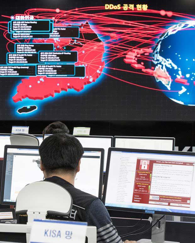 حملههای اخیر WannaCrypto