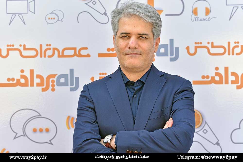 سیدابراهیم حسینینژاد مدیرعامل پرداخت الکترونیک سامان