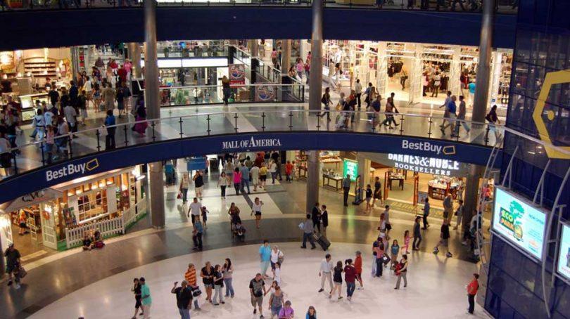 مراکز خرید در آمریکا