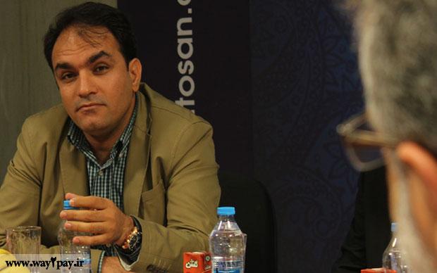 دکتر محمد مظاهری رئیس هیات مدیره و مدیرعامل شرکت توسن تکنو