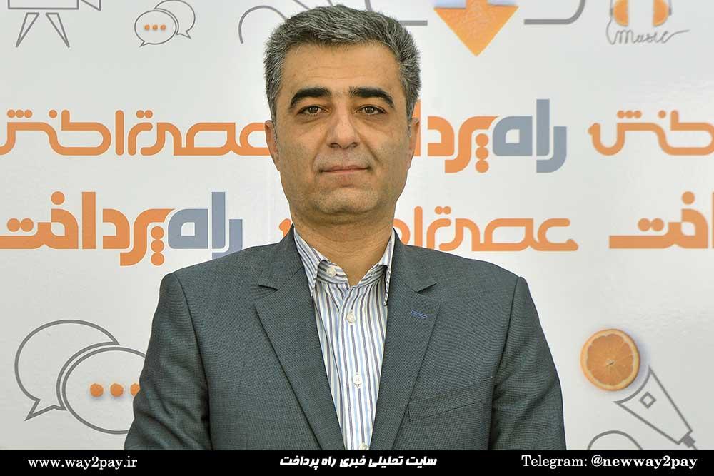 مرتضی ترک تبریزی معاون امور فناوری اطلاعات بانک ملت