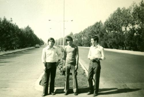 در خیابان آزادی سال ۱۳۵۳