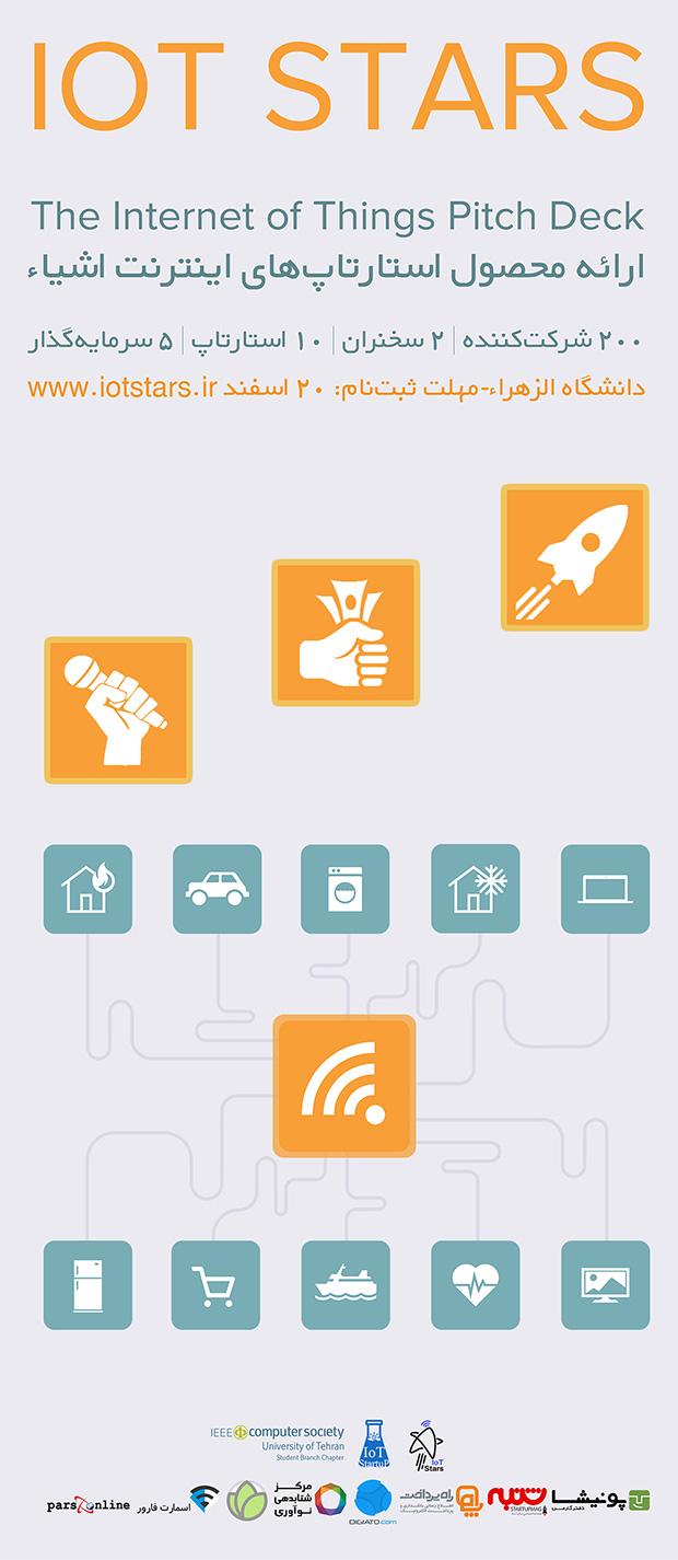 رویداد آیوتی استارز برای استارتآپهای اینترنت اشیا برگزار میشود