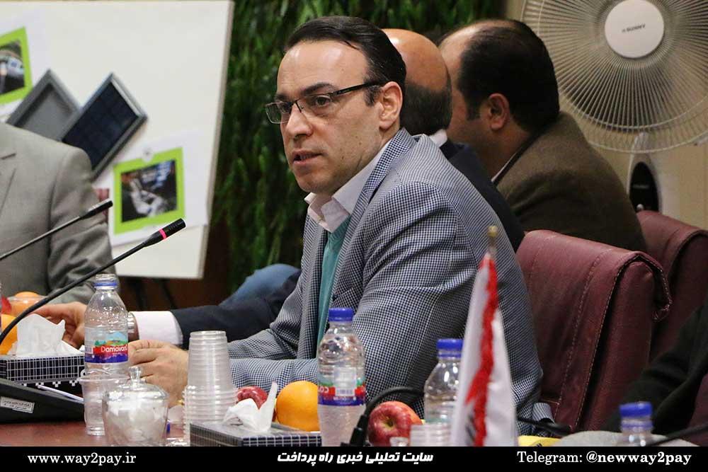 پیمان طبری معاون فناوری اطلاعات شرکت کارت اعتباری ایران کیش