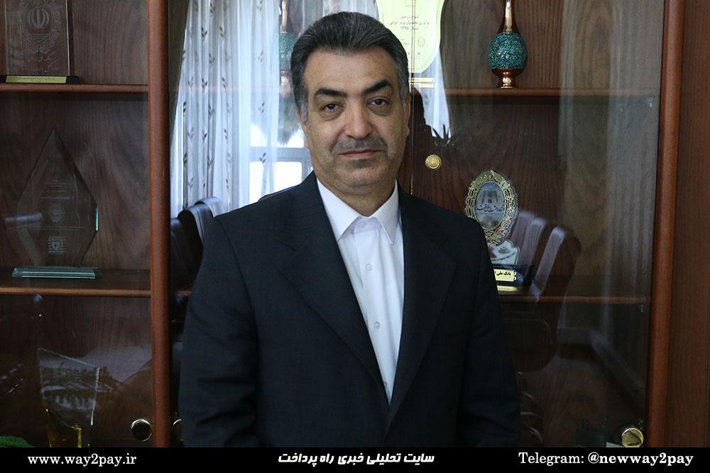 مسعود خاتونی، معاون فناوری اطلاعات و شبکه ارتباطات بانک ملی