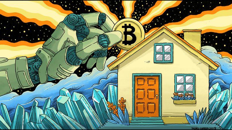 ارزهای رمزنگاری شده در معاملات املاک و مستغلات