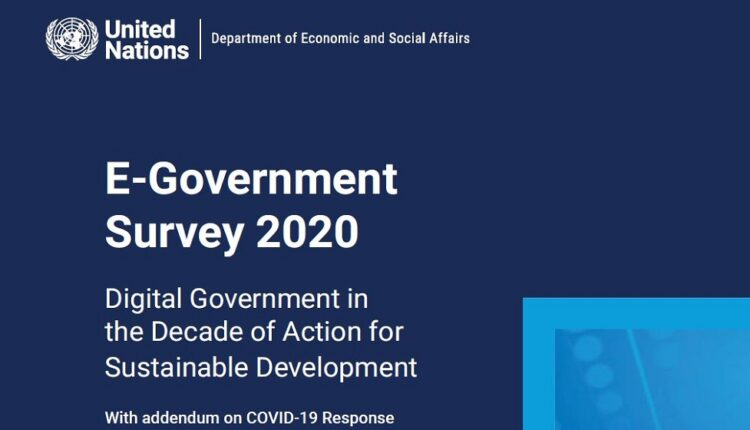 نظرسنجی دولت الکترونیک سازمان ملل متحد در سال 2020