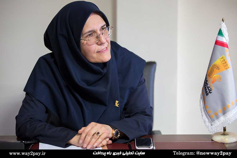 مهندس زهرا میرحسینی عضو هیئت عامل و معاون فناوری اطلاعات و ارتباطات بانک پاسارگاد