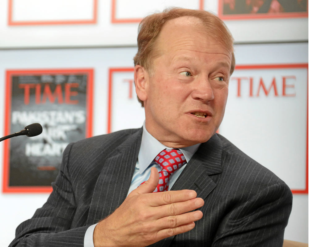 جان چمبرز (John Chambers)، مدیرعامل اسبق شرکت معظم سیسکو سیستمز (Cisco Systems)