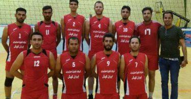 تیم والیبال ایران کیش