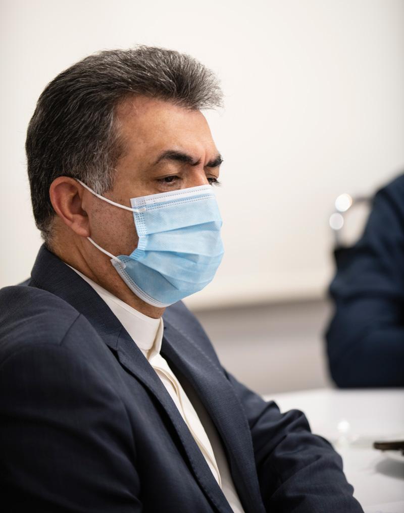 مسعود خاتونی، معاون فناوری اطلاعات و عضو هیئتمدیره بانکی ملی ایران