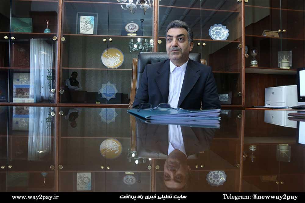 مسعود خاتونی، معاونت فناوری اطلاعات و شبکه ارتباطات بانک ملی