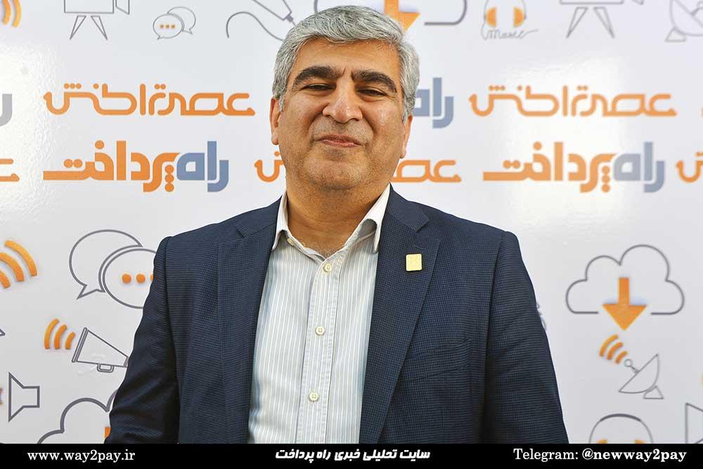 مسعود خرقانی معاون فناوری اطلاعات شرکت مهندسی صنایع یاس ارغوانی