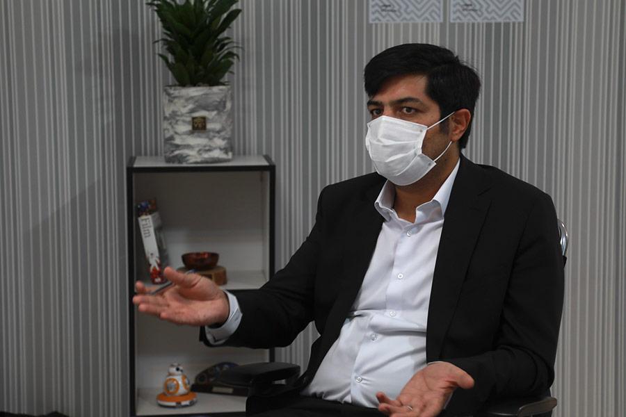 مظاهر مرجانی، مدیرعامل شرکت فناوری اطلاعات پارمیس