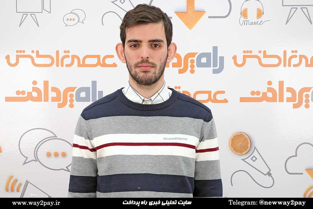 محمدمهدی باریده همبنیانگذار و مدیر بازاریابی پیپینگ