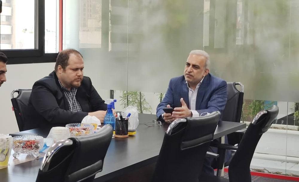 سید ولیالله فاطمی، مدیرعامل شرکت ققنوس