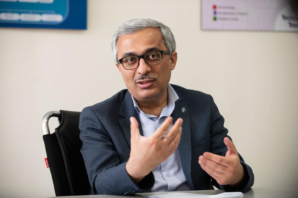 یوسف قلاتی، رئیس هیئتمدیره شرکت فناوران اطلاعات خبره